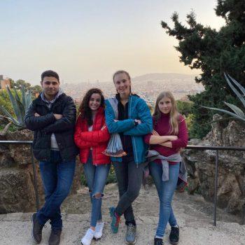 Erasmusschüler in Barcelona